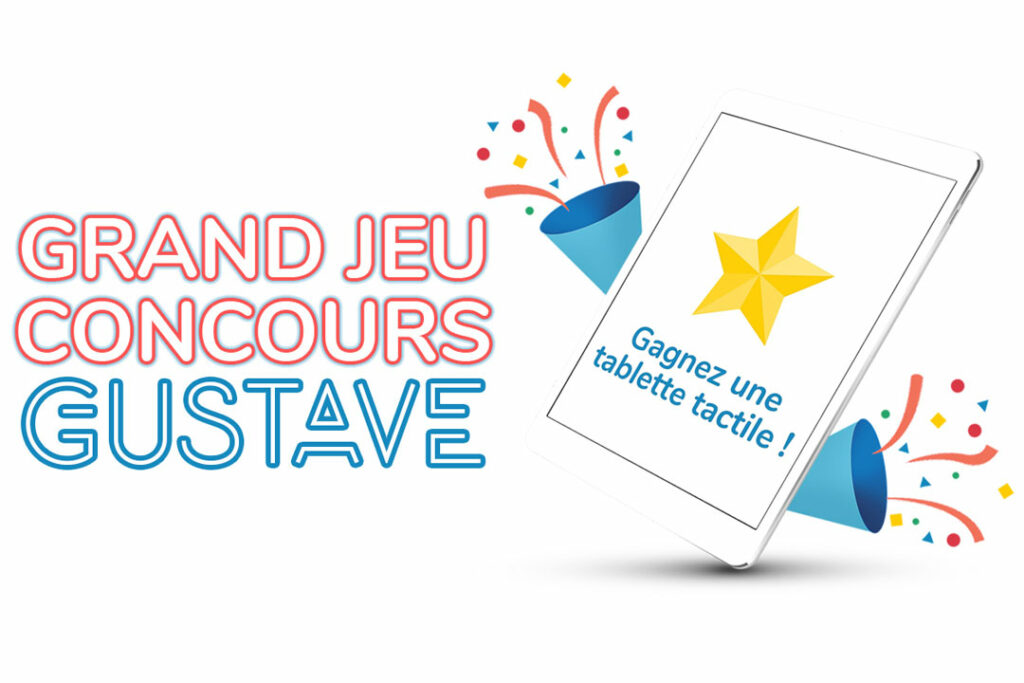 Jeu concours Gustave